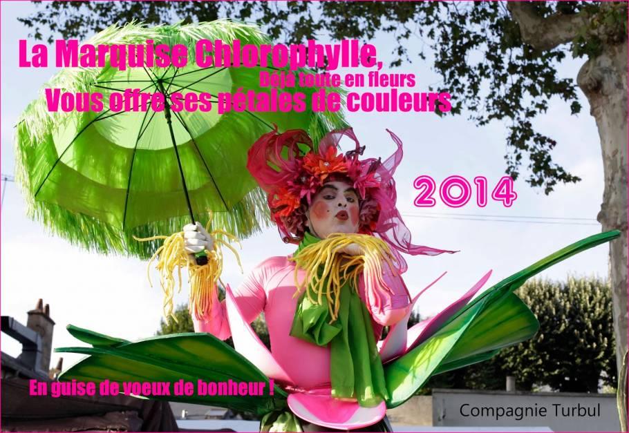 Création 2013 - La Marquise Chlorophylle