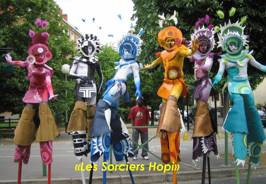 Tournée été 2014 - Les Sorciers Hopi
