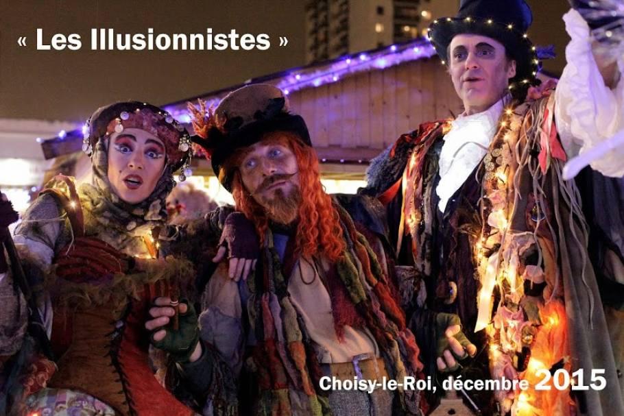 Création 2014 - Les Illusionnistes